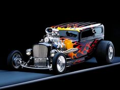 I love everything about this classic hot rod