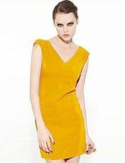 joannekitten女性のVネックノースリーブの背中が大きく開いショートドレス – JPY ¥ 1,144