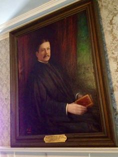 William H. Moody, portrait at the Buttonwoods Museum
