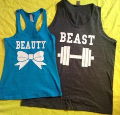 Great for couples who like to work out. Doubt Clint would ever be caught dead in this. Still reminded me of you ;)