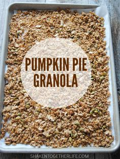 Oats, almond, coconut and pepitas (pumpkin seeds) are toasted with loads of…