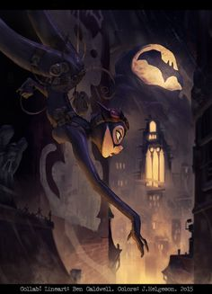 ArtStation - Catwoman Collab, Johannes Helgeson