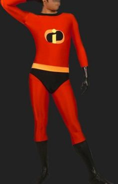 The Incredibles: Lycra Spandex Catsuit / Zentai Suit (No hood)