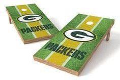 Green Bay Packers Single Cornhole Board - Field