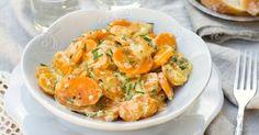 Recette de Mijoté de carottes et d'endives à la crème légère. Facile et rapide à réaliser, goûteuse et diététique.
