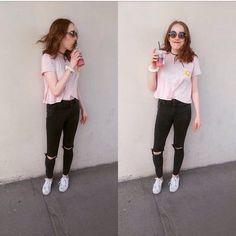15 Outfits de chica TUMBLR que debes llevar a la escuela