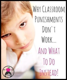 Blog post with ideas for replacing punishments with things that really work! Plus a free logical consequences cheat sheet! #classroommanagement #classroomdiscipline #classroomideas