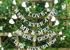 結婚式を華やかに飾りつけ♩材料別で作る『ガーランド』のデザインアイデア集*のトップ画像