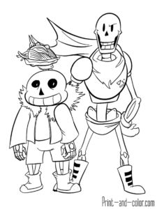 21 Undertale Coloring Pages Ideas Coloring Pages Undertale Printables Kids