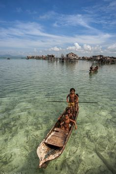 While their existence is controversial, the 'sea gypsies' appear to be happy and comfortable in their ocean home