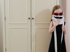 Celebritot Incognito Mustache Disguise Toddler Dress by TeenyBunny, $48.00