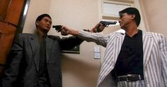 """Chow Yun Fat and Danny Lee; the definition of cool in """"The Killer"""" by John Woo Hard Boiled Movie, Danny Lee, Catholic Blogs, John Woo, Awesome Definition, Gangster Films, The Killers, Neon Noir, Asian"""
