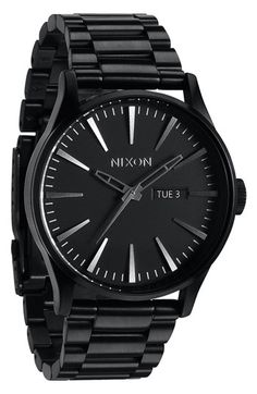 Nixon 'Sentry' Bracelet Watch, 42mm | Nordstrom