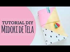 DIY Midori de Tela o Fabricdori - Kimidori