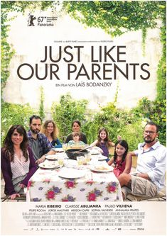 JUST LIKE OUR PARENTS - 2017 - ORIG. FILMPOSTER A4 MARIA RIBEIRO PAULO VILHENA