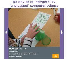 Los niños pueden aprender programación sin utilizar los ordenadores - Aprender es un juego