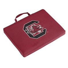 Logo™ University of South Carolina Bleacher Cushion (Red Dark, Size ) - NCAA Licensed Product, NCAA Novelty at Academy Sports