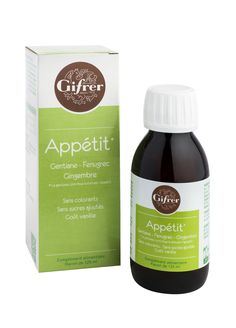 Solution Buvable Sirop Appétit Gifrer