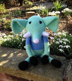 A personal favourite from my Etsy shop https://www.etsy.com/listing/224280463/handmade-elephant-toy