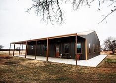 Amazing Oklahoma Barndominium - Pictures, Builder Info, Cost, and More Metal Building House Plans, Steel Building Homes, Small House Floor Plans, Pole Barn House Plans, Beach House Plans, Pole Barn Homes, Craftsman House Plans, Dream House Plans, Pole House