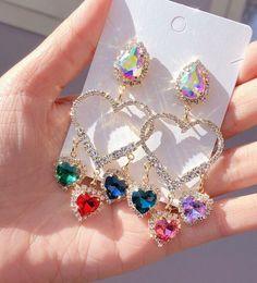 Image in jewelry diamond accessories 💍 collection by Jewelry Design Earrings, Ear Jewelry, Cute Earrings, Unique Earrings, Cute Jewelry, Fancy Jewellery, Stylish Jewelry, Fashion Jewelry, Kawaii Accessories