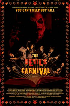 COME ONE, COME ALL! The New Official Theatrical Poster for THE DEVIL'S CARNIVAL Revealed!