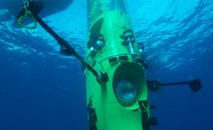 James Cameron reaches deepest pt in the ocean! #MarianaTrench