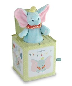 Look at this Dumbo Jack-in-the-Box Toy on #zulily today!