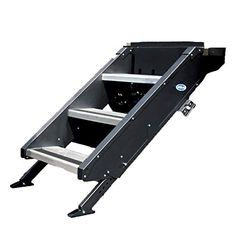 """Mor/Ryde StepAbove 3 Step - 30""""-33.5"""" Step Height, 8"""" Step Rise, 26""""-28"""" Door Width (STP-3-27-02H) MOR/ryde Spinal Muscular Atrophy, Easy Install, Type 1, Kids, Things To Sell, Young Children, Boys, Children, Boy Babies"""