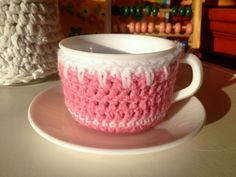 Crochet teacup | Flickr - Photo Sharing!