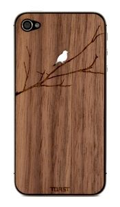 Wooden Etched iPhone Cover Designs by Toast