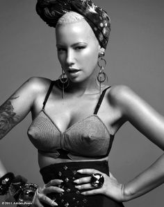 Amber Rose in Retro style. Love it.