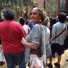 Bandolera gloriaca en el Museo Louvre, París