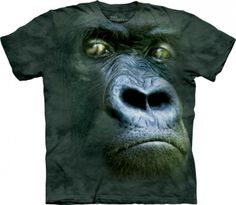 Realistic 3D Zoo Animal Face T-Shirts by The Mountain