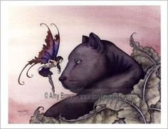 Amy Brown Fantasy Art   Fairies World, Fairy & Fantasy Art Gallery - Amy Brown/Bravery©
