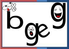 Literele b, B, g, G, grupul de litere ge, Ge. Recapitulare. Exerciții, fișe de lucru, idei pentru recapitularea literelor învățate