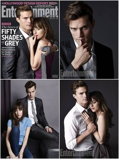 'Fifty Shades of Grey': First Character Photos - Jamie Dornan as Christian Grey and Dakota Johnson as Anastasia Steele