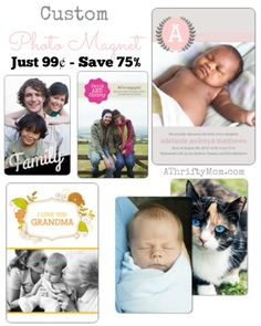 Mothers Day gift ideas, Grandma Gift Ideas, Teacher Gift Ideas these Photo Magnets make a great gift for anyone, free photo codes