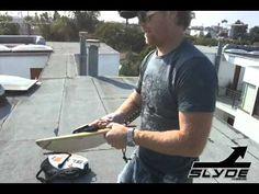 Slyde Handboards leash Demo