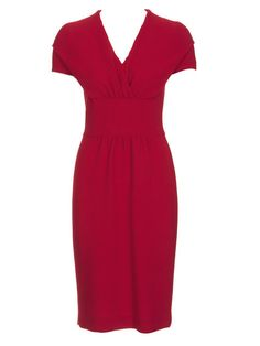 Dress in Burda Style 11/2011 - bought black nicely falling fabric for this
