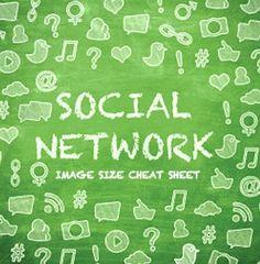 Social Image Size Cheat Sheet