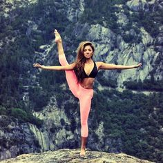 Yoga Bucket List: Clifftop. EEK!