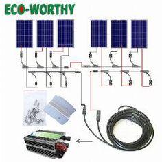 Rv diagram solar wiring diagram camping r v wiring outdoors 30 off usa stock 600watt complete kit 6 x100w 18volt pv solar panel ccuart Gallery