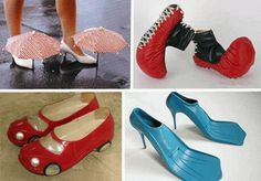 Fabulous Funny Shoes ♥♥