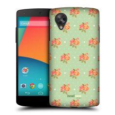Head Case Nostalgic Rose Patterns Back Case Cover for LG Google Nexus 5 D821 | eBay