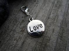 Silver Love Charm  Midori Charm  Fauxdori by PohakantenJournals