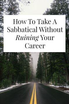 Want to take a sabbatical, but you're not sure where to start? Taking a break from work for a several months isn't just for…
