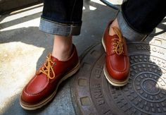 Red Wing Work Oxford #8103
