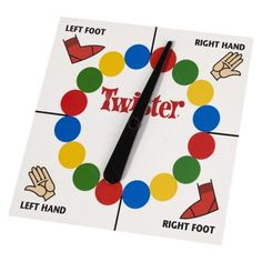 A classic game of Twister is sure to keep the kids entertained for hours!