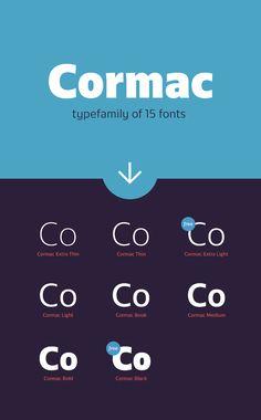 Cormac Typefamily Free Demo